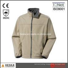 Mens Outdoor Cheap Beige Softshell Jacket