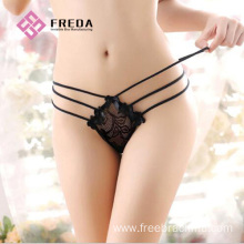 Best-Selling for Sexy Thongs,Lace Thongs,Women Thongs,Lace Sexy Thongs Manufacturer in China Sexy fashion ladies lace strap thongs panties export to Portugal Factories