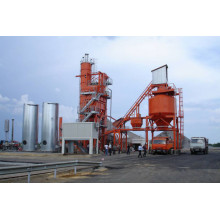 Customized for Portable Asphalt Mix Plant Continuous Drum Asphalt Mixing Plant supply to Ghana Importers