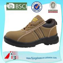 Zapatillas de deporte de acero del dedo del pie de los zapatos de los amaestradores del dedo del pie para los hombres