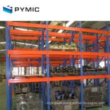 Good Price Garage Warehouse Storage Iron Treadplate Welded Rack