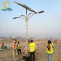 Lampe solaire de réverbère à LED 80w de haute qualité