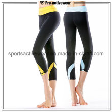 OEM 2016 Women New Designs High Waist Sexy Women Breathable Yoga Capri Pants