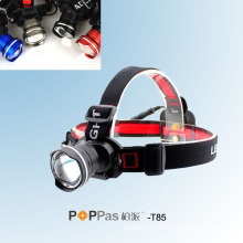 Fisheye Deisgn CREE Xm-L T6 Brightest LED Headlamp (POPPAS- T85)