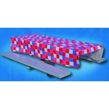 Housses de table ajustées imprimées en pvc Chemin de table de Pâques