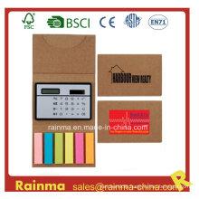Sticky Memo Pad with Calculator