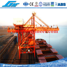 1000t/H Mobile Ship Grab Unloader for Bullk Cargo Ore