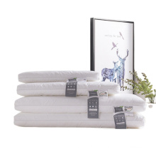 Hot sale low pillow soft flat protects cervical spine bed pillows for adult