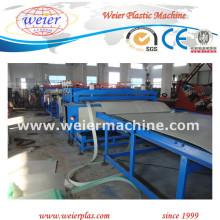 Línea de producción de perfiles de rejilla hueca PP de plástico (sj120 / 33)
