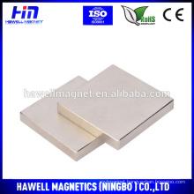 neodymium magnet N52 Nickel block magnet