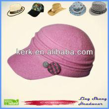 Sombrero de béisbol de las lanas del 100%