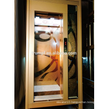stainless steel mirror etching home lift