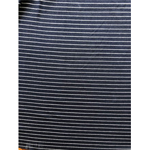 Rayon spandex yarn dyed 4by2 rib knitting fabric