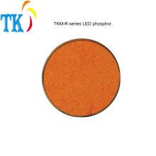 Polvo de pigmento luminóforo de nitruros rojos de fósforo de LED para hacer un LED blanco cálido o un color de luz especial.