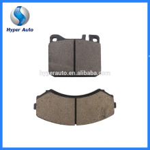 Low Metal Friction Coefficient D681/7560 Auto Bremse Brake Pad Manufacturing Machine Brake Pad