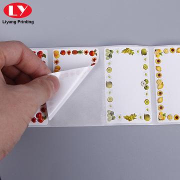 Пользовательские самоклеющиеся наклейки виниловые наклейки рулона листов
