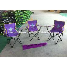 vente chaude 2014 twin camping chaises avec parasol, chaise de camping ultra-léger