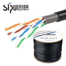 СИПУ заводская цена около+ccs водонепроницаемый кабель cat5 сети Ethernet оптом лучшие цены UTP кабель cat5e на открытом воздухе кабель