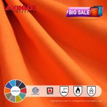 Grand lot de vente en gros ignifuge en gros de tissu de ventes pour des vêtements de travail