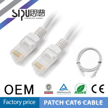 SIPUO muestras gratis 3 pies 1M CAT6 LAN Ethernet red blindado STP/UTP Patch Cable cable RJ45 de 550MHz