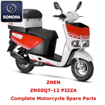 ZNEN ZN50QT-12 PIZZA Repuestos Scooter completo