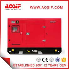 Generador insonorizado de Aosif 150kw con el motor CUMMINS y el alternador de Leory Somer