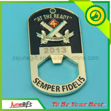 Custom Zinc Alloy Metal Bottle Opener