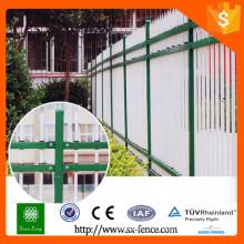 Panneaux de clôture en fer forgé d'assurance professionnelle / panneaux de clôture galvanisés / panneaux de clôture à bas prix