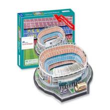 Educativo 100PCS España Estadio Niños Puzzle 3D de juguete (10173058)
