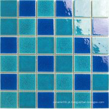 Mosaico de série de piscina de porcelana