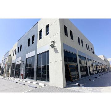 Prefabricated Structural Steel Car Hall Showroom (KXD-SSB1497)
