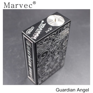 Luxury engraved half-mechanical box mods vape