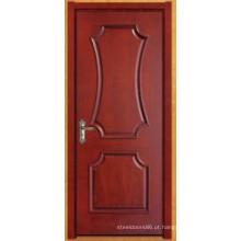 Porta de pintura de folheado de madeira (novo modelo 023)