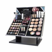 Lápiz labial Display Stand Fabricante Profesional En la tienda Maquillaje de madera Cosméticos Display Counter