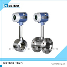 Vortex flow meter for compressed air flow meter