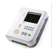 Doce canal de plomo electrocardiógrafo electrocardiógrafo EKG Holter táctil pantalla certificado del Ce (SC-CM1200B)
