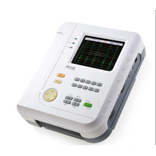 Twelve Lead Channel ECG Machine EKG Electrocardiograph Holter Big Touch Screen Ce Certificate (SC-CM1200B)