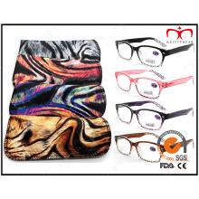 Match bolsa de patrón animal de moda Eyewear gafas de lectura (MRP21587)