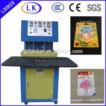 Teethers PVC blister packing machine