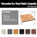 Cubierta de madera que se enclavija Compuesto de plástico de madera