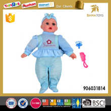 18 inch 2 mixed baby doll toy with 4IC