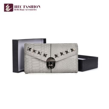 HEC Promotional Lady porte le portefeuille en cuir d'unité centrale de PVC pour des filles