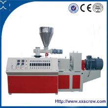 Extrusora de doble tornillo para la fabricación de tuberías de PVC