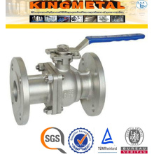 Forged Dn20/32/40//50 2 PC Wcb Industrial Ball Valves