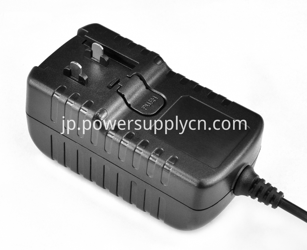 6v0 5a Changeable Plug Wall Power Adapter
