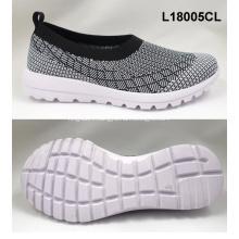wholesale flyknit lightweight sport running shoes