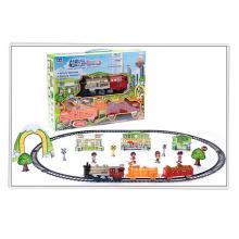 Игрушка ребенка B / O железная дорога Установить игрушка со светом (H0143237)
