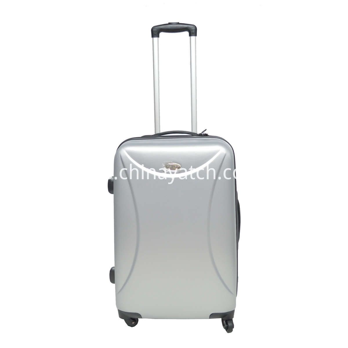 silver Cheap Promotional ABS Trolley Suitcase