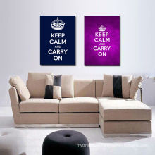 Keep Clam and Carry on 2 Group Wall Art