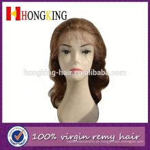 Peruca de festa frente peruca feita na china